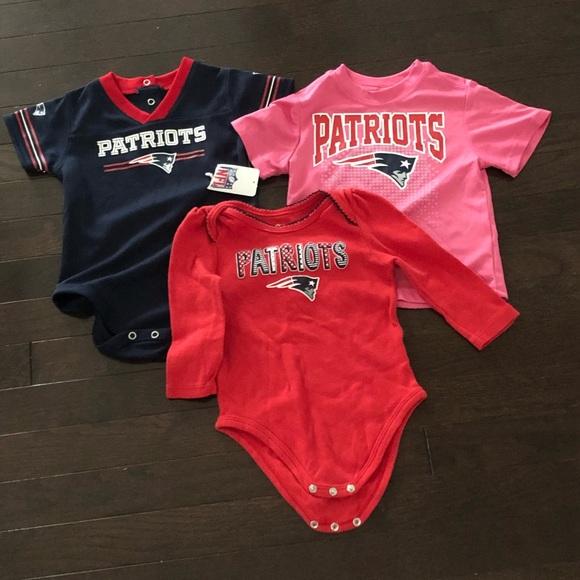 18 month patriots jersey